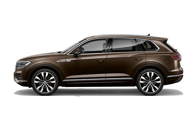 Touareg V6S finished in Tanarin Brown