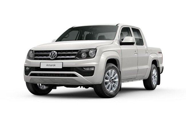 Amarok finished in Candy White