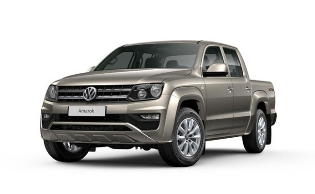 Amarok finished in Mojace Beige Metallic