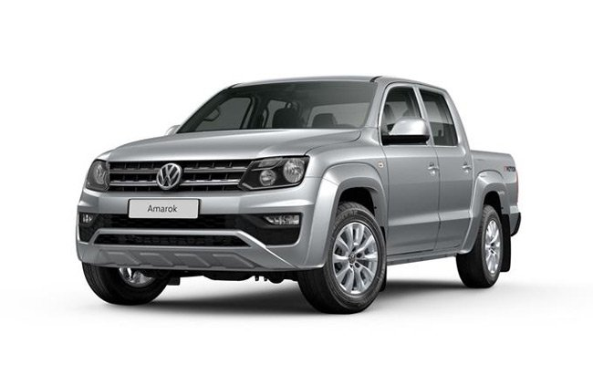 Amarok finished in Reflex Silver Metallic