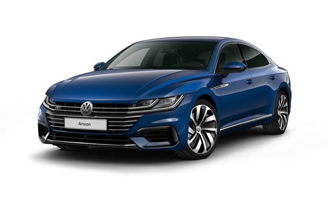 Arteon R-Line finished in Atlantic Blue Metallic