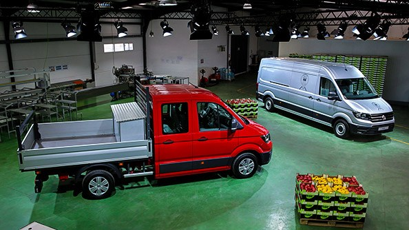 Sized right for your needs. The dimensions of the new Crafter are flexible for complete practicality and ease in your everyday business use. For example, maximum cargo capacity has been combined with minimal external dimensions, making it extremely manoeuvrable. There are also up to three different vehicle lengths and heights available depending on your chosen model, meaning you can build the Crafter to meet your needs.