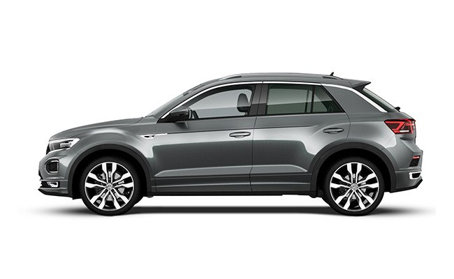 T-Roc R-Line finished in Indium Grey