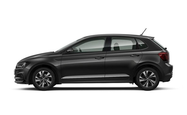 Polo TSI finished in Deep Black Pearlescent