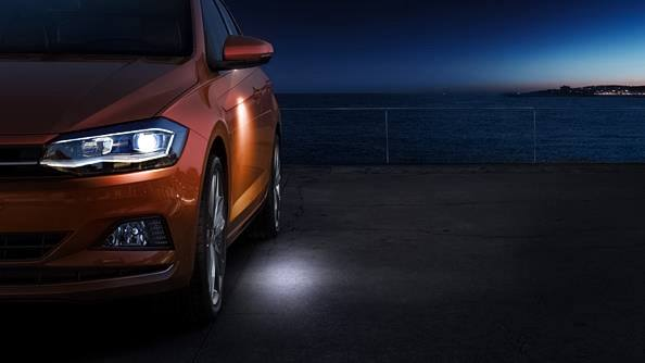 Electric folding mirros. The Polo's heated mirrors will help you see more clearly in any weather conditions. They also conveniently fold in automatically - perfect for city parking.