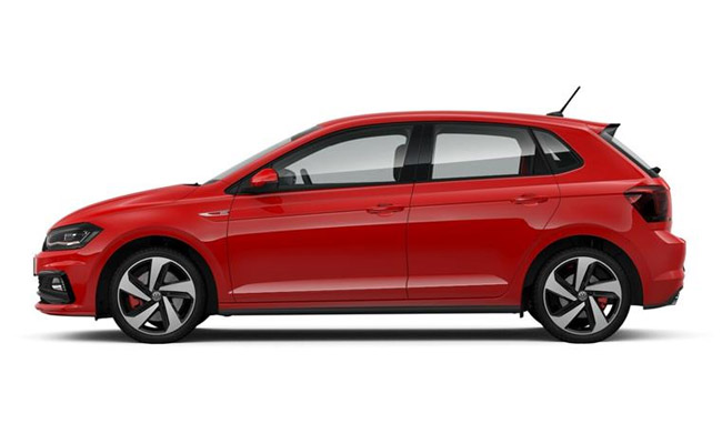 Polo GTI finished in Flash Red