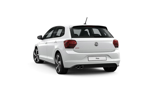 Polo GTI finished in Pure White
