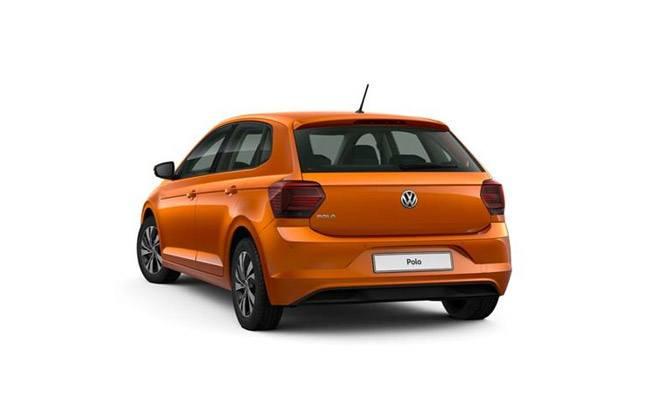 Polo TSI finished in Energetic Orange Metallic
