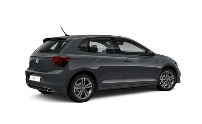 Polo R-Line finished in Urano Grey