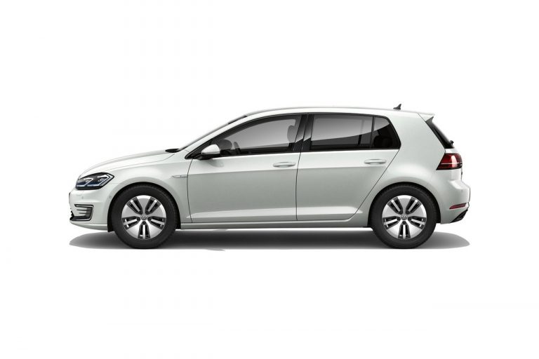 The e-Golf finished in Reflex Silver