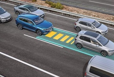 Traffic Jam Assist. The Traffic Jam Assist relieves pressure on the driver in stop-and-go traffic, helping to avoid accidents in slow-moving traffic.