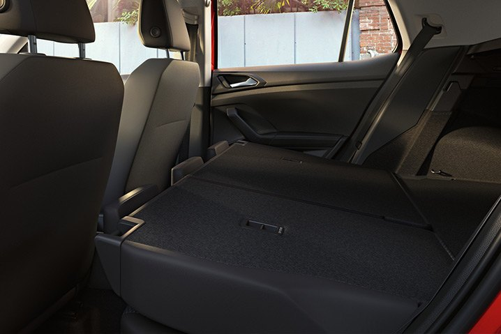 Space to move. Spread out with adjustable rear bench seating. Flexible for extra leg room or make way for additional luggage. With a capacity of up to 455 litres* you wont need to leave anything behind.  *Rear seats upright & rear bench forward (VDA). Luggage capacity is reduced by approx. 80 litres when fitted with the beats sound system.
