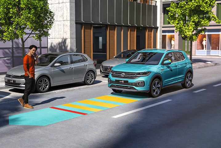 Advanced safety systems.  Front Assist incl. Autonomous Emergency Braking       Pedestrian and Cyclist Monitoring Lane Assist incl. Lane Keeping System Side Assist incl. Blind Spot Monitor Rear view camera with front and rear parking sensors.