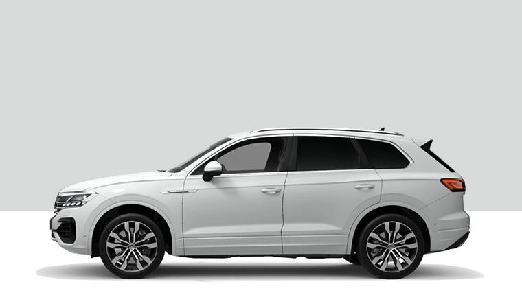 VW Touareg V8 R-Line side profile render