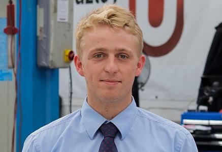 Jordan Soderberg, Volkswagen service advisor