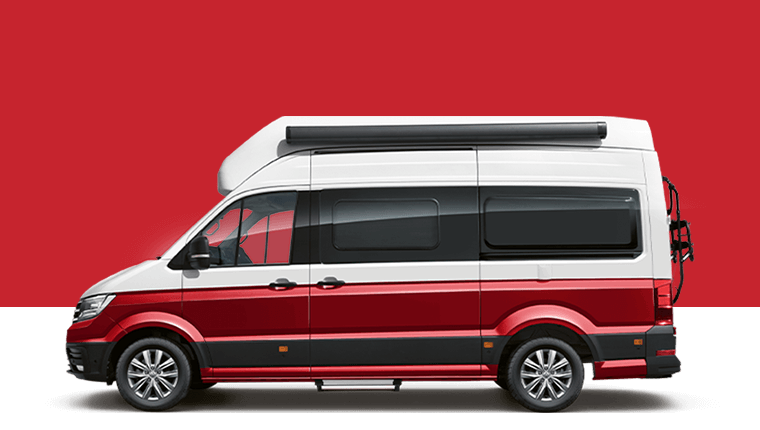 Volkswagen Grand California 600 profile render