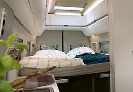 Volkswagen Grand California rear bed