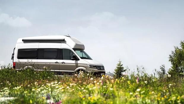 Volkswagen Grand California 600 in field