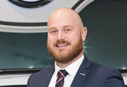 Jack Sharp, Volkswagen Brand Manager