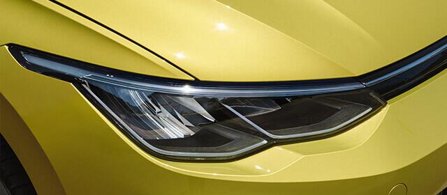 Golf MK8 front headlight